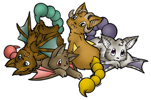 Pearo Litter (open - 2 of 4 adopted) by Trinkety
