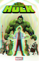 The Totally Awesome Hulk in 3D Anaglyph by xmancyclops