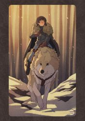 Bran and Summer by Kaisel