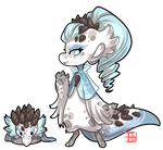 #1269 Mythical BB - Arctic reef Dragon by griffsnuff
