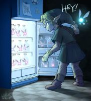Legend of Zelda: Midnight Munchies by KendallHaleArt