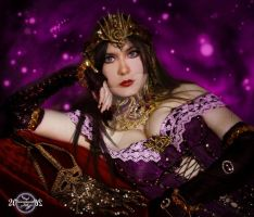 Liliana of the Veil cosplay- Close up by 20Tourniquet02