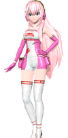 Project Diva Arcade Future Tone Racing Luka by WeFede