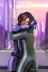 mass effect fanfiction cover 5 by calisto-lynn
