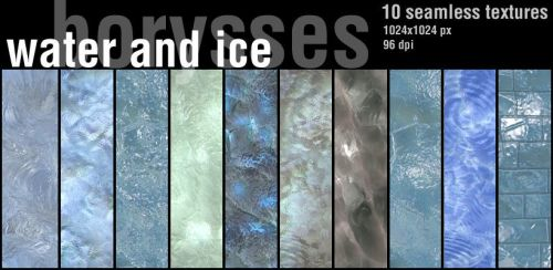 Water and ice by borysses