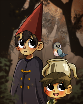 FANART | Over the GardenWall by Megu-H
