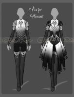 Clothing Design Set Adopt [CLOSED] by JxW-SpiralofChaos