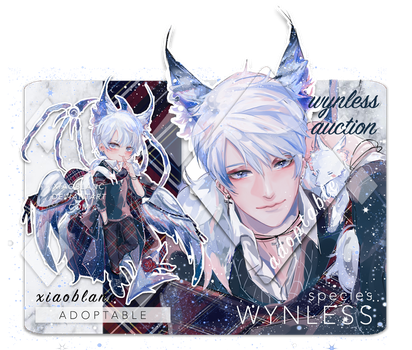 [CLOSED] WYNLESS Adoptable by xiaoblanc
