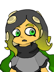 That Yellow Octoling by Uxie126