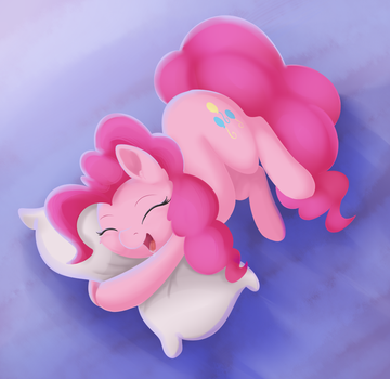 Ponk sleep by ValeBreeze