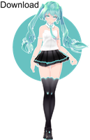 TDA Puleun Miku Download by Ohbey