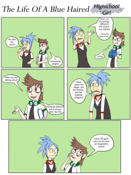 MLAABHS Intermission: My Life as a Highschool Girl by epic-agent-63