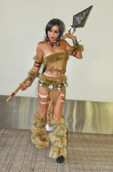 Nidalee - League of Legends cosplay by chefkittens by sacphotos