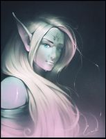 Dark elf by GaudiBuendia