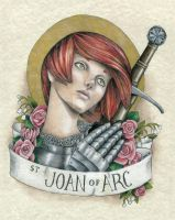Saint Joan of Arc by Muko-kun