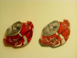 Realism challenge coke can by OMKDrawings