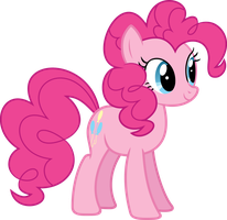 Vector Pinkie Pie by DeyrasD