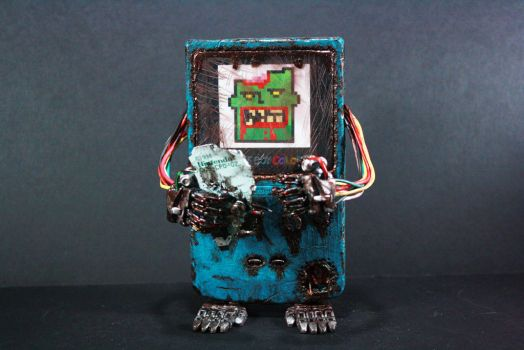 Zombie Gameboy Color by kodykoala