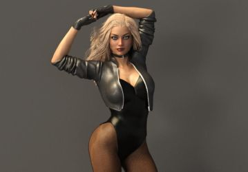 Black Canary Shoot by Devy25
