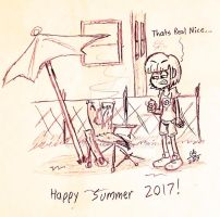 Have a Good Start to Summer by cartoon56