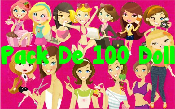 Pack De 100 Doll by DaisyTinista