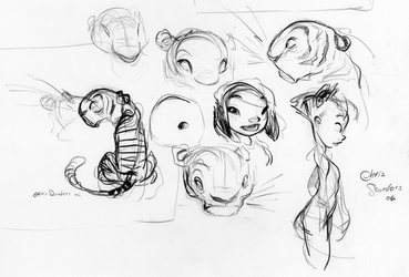 Another sketch page by alohalilo