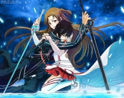 Sword art online - I will protect you by mayshing