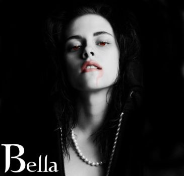 Vampire Bella by redrose94
