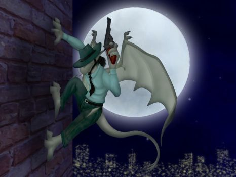 Gargoyle Jigen Completed by Whimsy-Floof