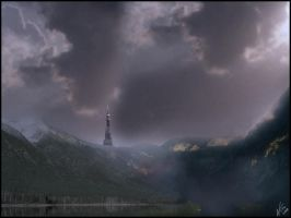 Matte painting 1 by Vensir