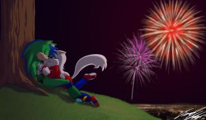 CP, Fireworks by Toughset