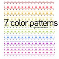 7 color patterns by HeyImLia