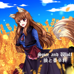 Spice and Wolf (Commission) by Mimyoi
