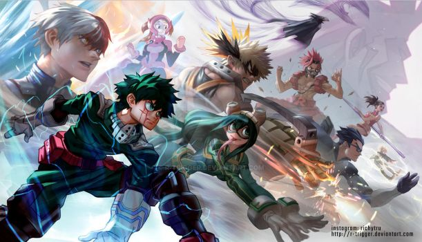 My Hero Academia by r-trigger