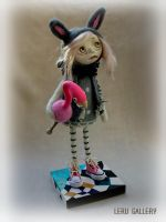 Alice In Wonderland. Art doll by Elena LeRu by LeRuGallery