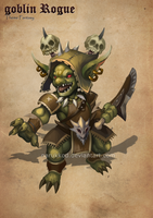 ADOPTABLE :Goblin Rogue[Open] by narukkod