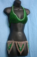 Green Top and Belt by Utopia-Armoury