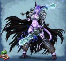 Commi - 389 -  Lich Queen by 7th--Heaven