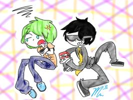 Bodil40 and Rage Simon by RichHoboM3