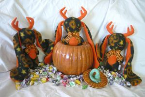 Jeepers - Limited Edition Halloween Jackalope by PhantomxFan