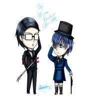 Will T Spears and Ciel Phantomhive by Allis-SRM