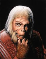 Dr. Zaius by BruceWhite