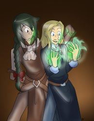 True Magic - Higgens and Mr. Green Hair by liliy