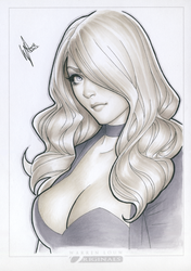 Black Canary SDCC '14 by WarrenLouw
