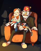 pines family by some-hipster
