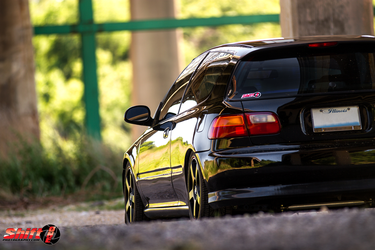 93 civic hatch by ShiftonePhotography