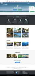Anchor WordPress Theme - homepage by ait-themes