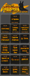 Nudinyms mystery halloween advent CLOSED THANK YOU by Lighterium