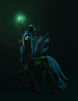 Queen Chrysalis by claireone