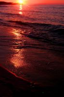 color of the sunset. by cscruff